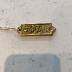 Jewelry - Captain necklace